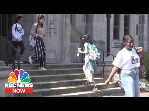 HBCUs And Womens Colleges See Rise In Applicants  NBC News Now