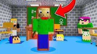 Minecraft: BALDIS QUER NOS PEGAR! (Esconde-Esconde)
