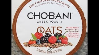 Chobani Oats: Mixed Berry Ancient Grains Review