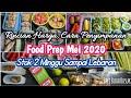 BELANJA MINGGUAN FOOD PREP MEI 2020 MINGGU KE 3-4 | STOK 2 MINGGU | STOK SAMPAI SETELAH LEBARAN