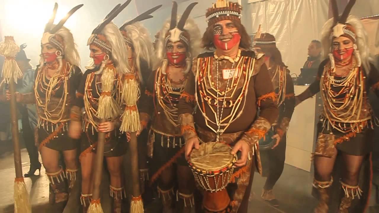 Canal bail n concurso de disfraces grupos carnaval - Difraces para carnaval ...