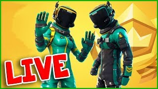 New SKIN TOXIC TROOPER / HAZARD AGENT! Fortnite with MINI NINJA!