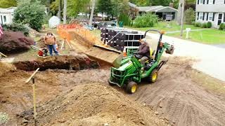 Working my John deere 1025R to the extreme