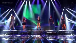 "Fifth Harmony sings ""Impossible"" (The X Factor USA 2012 Semifinal)"