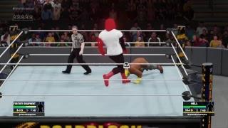WWE 2k18 Fortnite pele