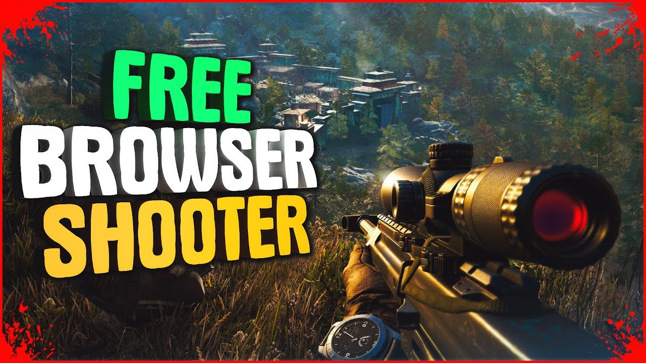 Top 10 Free Shooter Online Browser Games Low Spec Pc