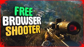 Top 10 Free Shooter Online Browser Games Low Spec PC +Links