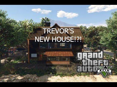 (Gotcha Game live)GTA 5 NEW DLC HOUSES part 2 TREVOR'S NEW HOUSE!?!