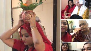 Jab Hum Sab Ek Saath Aaye - House Puja with Red & Yellow Family | Indian Mom On Duty