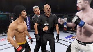 Bruce Lee vs. White Shark (EA Sports UFC 2) - CPU vs. CPU