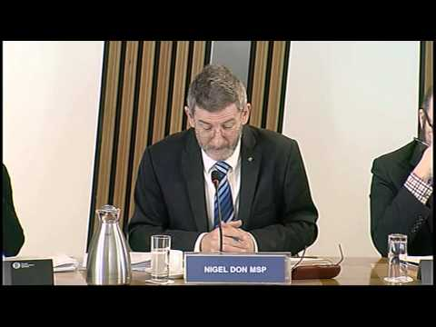 Delegated Powers and Law Reform Committee - Scottish Parliament: 17th February 2015