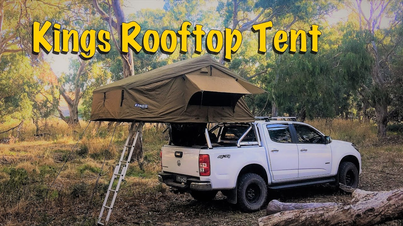 Kings Roof Top Tent Setup & Kings Roof Top Tent Setup - YouTube