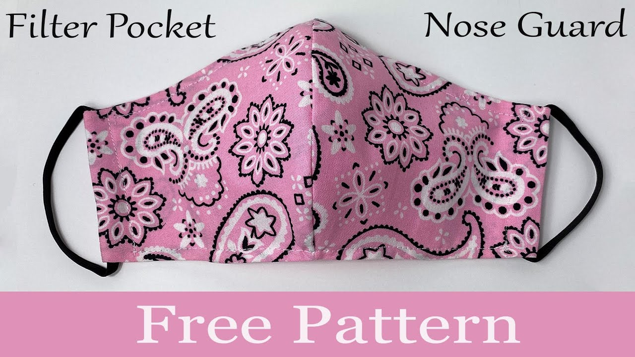 No Sewing Machine Face Mask | New 3-Layer Guideline Face Mask