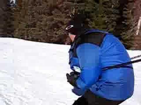 Warren Hylton Skiing in Vail