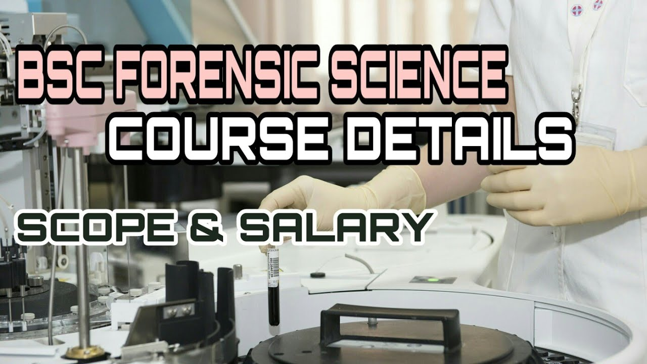 Bsc Forensic Science Course Details In Malayalam Youtube