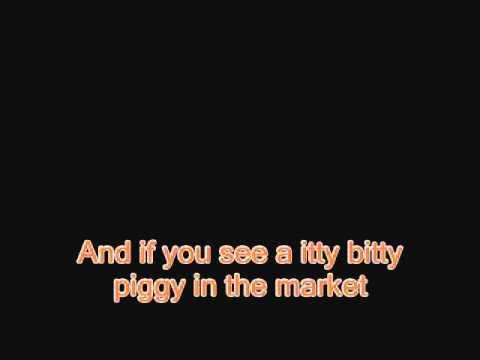 Itty Bitty Piggy - Nicki Minaj - Instrumental/Karaoke - Lyrics (On screen)