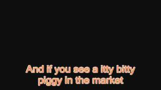 Itty Bitty Piggy - Nicki Minaj - Instrumental/Karaoke - Lyrics (On screen)