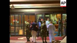 Injured soldiers return to army hospital