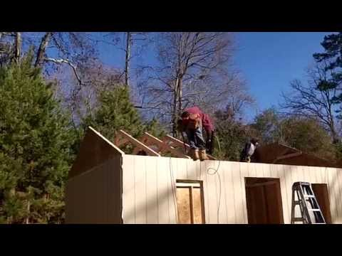 How to build a 12×20 shed: Pt1