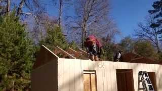 How To Build A 12x20 Shed: Pt1