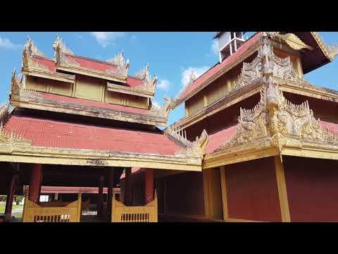 Golden Palace. Myanmar.