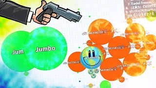 KILLING TEAMS IN AGARIO !! - SOLO agar.io gameplays