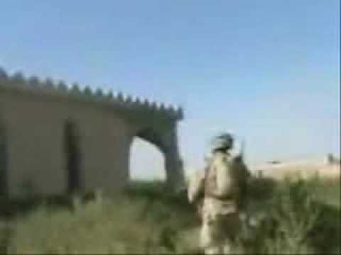 RARE FOOTAGE MARINES KILLS IRAQI INSURGENTS