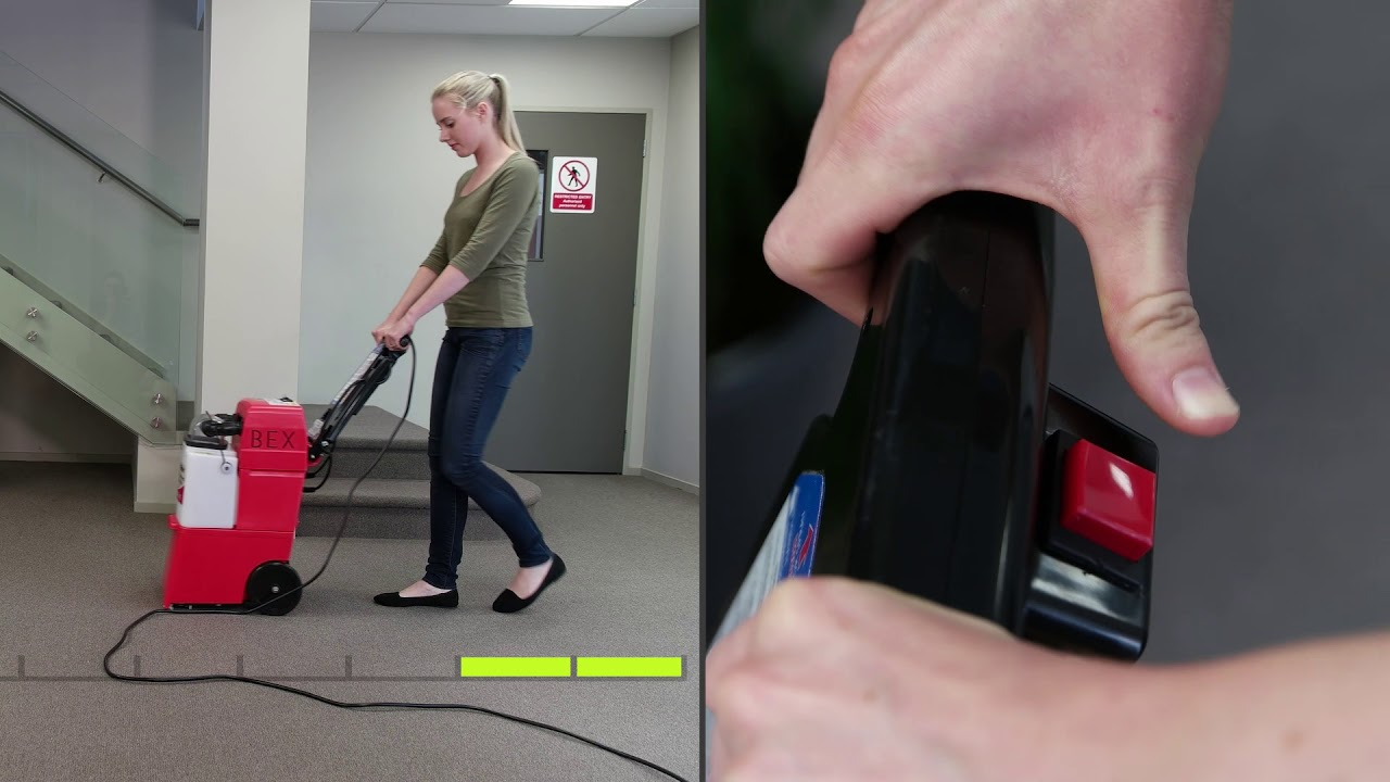 How to Use a Rug Doctor Carpet Cleaner Machine