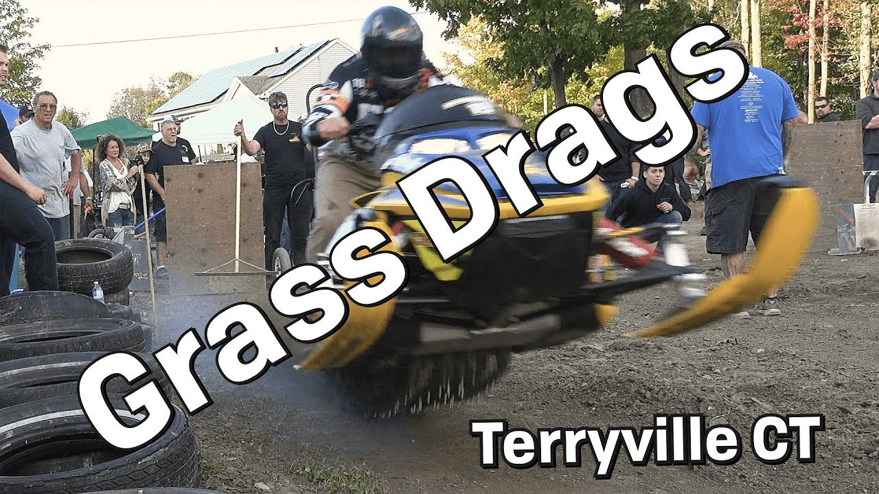 Download Huge Horsepower Snowmobile Grass Race Drags Terryville, CT
