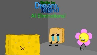 Battle For Dream Island - All Eliminations