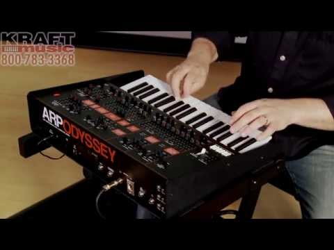 Kraft Music - Korg ARP Odyssey Synthesizer Demo with Rich Formidoni