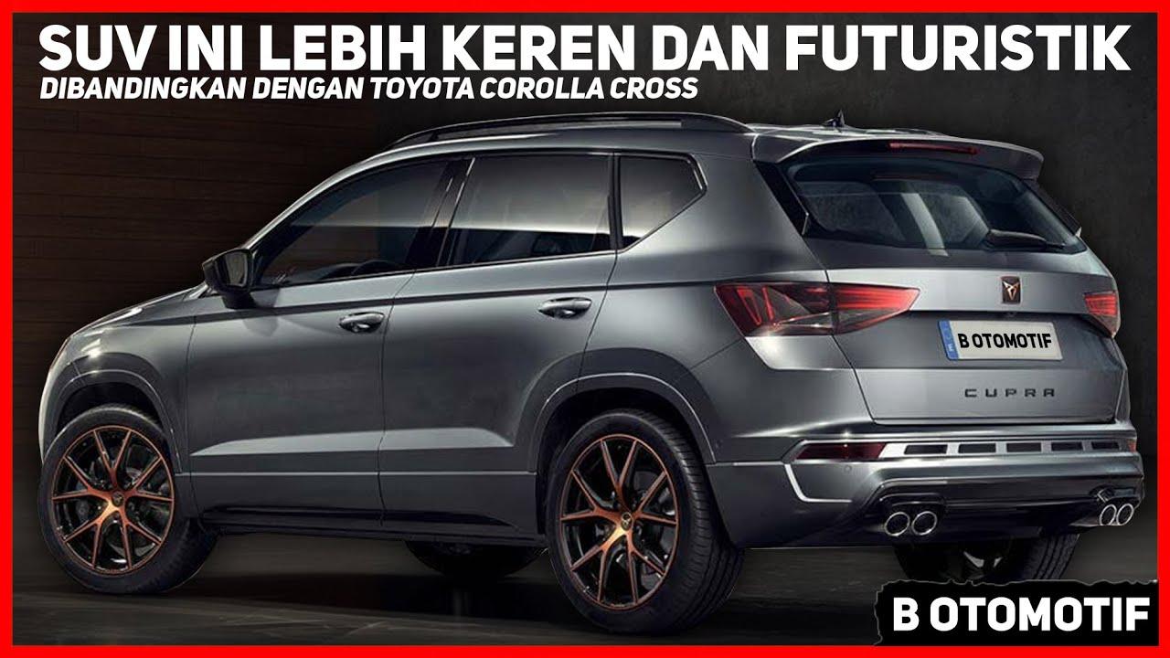 SUV Ini Punya Desain Lebih Keren dan Futuristik dibandingkan dengan Toyota Corolla Cross