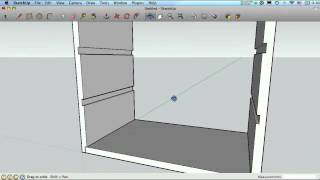 Sketchup For Woodworkers - Dados, Rabbets And Grooves