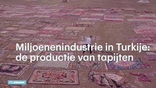 Voetbalvelden vol Turkse tapijten
