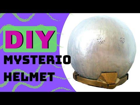 Mysterio Helmet | Paper Mache and Cardboard DIY