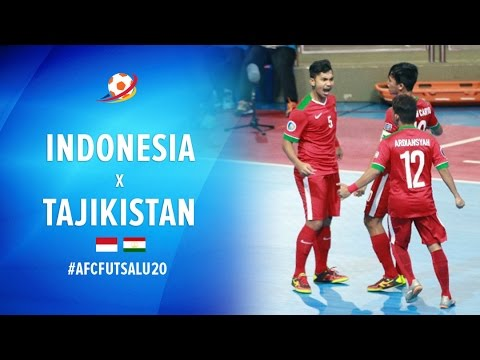 Timnas Futsal Indonesia (5) VS (3) Tajikistan - AFC Futsal Championship 2017 U20