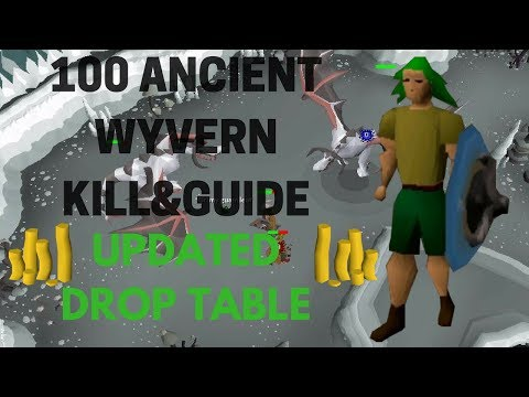 100 Ancient Wyvern Kills UPDATED DROP TABLE - Ancient Wyvern Guide OSRS