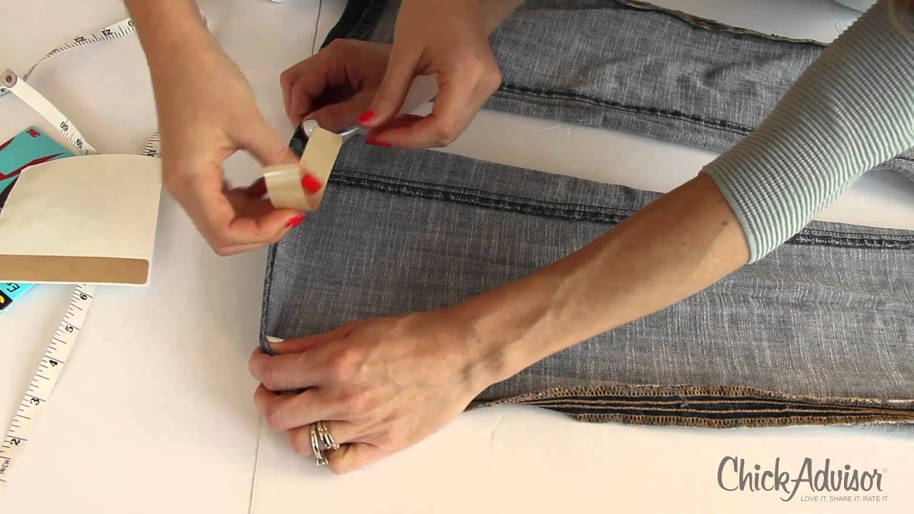 Scotchessentials Permanent Hem Bonding Strips How To Youtube