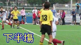 英皇佐治vs香港國際 2016 4 15 d1學界足球丙組四強 精華