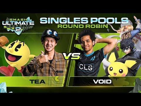 Download Tea vs VoiD - Singles Pools: Round Robin - Ultimate Summit 2 | Pac-Man vs Joker, Pichu, Sheik