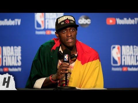 Pascal Siakam Postgame Interview - Game 6 | Raptors vs Warriors | 2019 NBA Finals