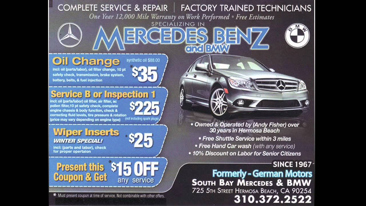 Perfect South Bay Mercedes Benz U0026 BMW Repair