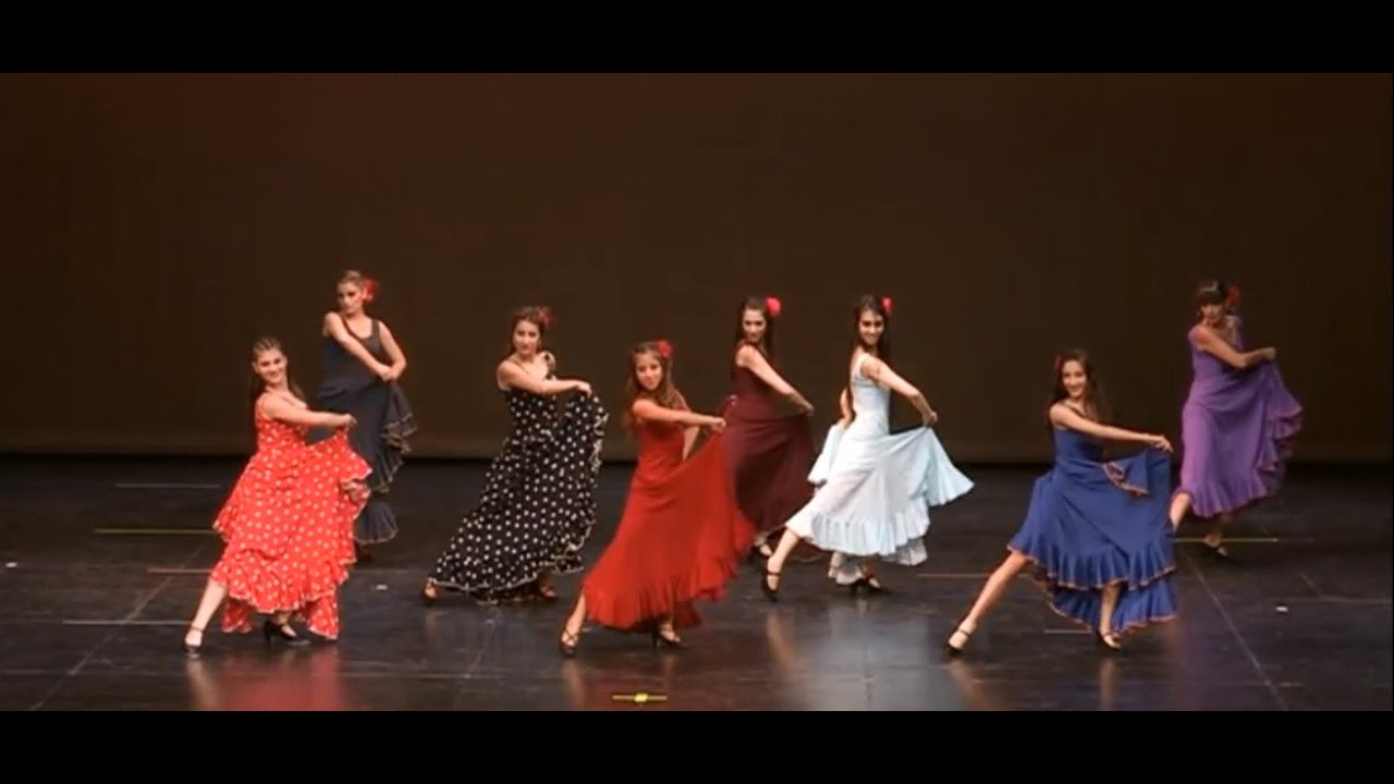 Flamenco Bailando Shakallisdance2014 Youtube