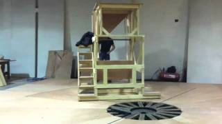 Building Revolving Stage