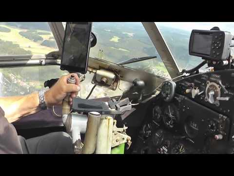 How To Land The Antonov AN-2 Airplane - Cockpit View