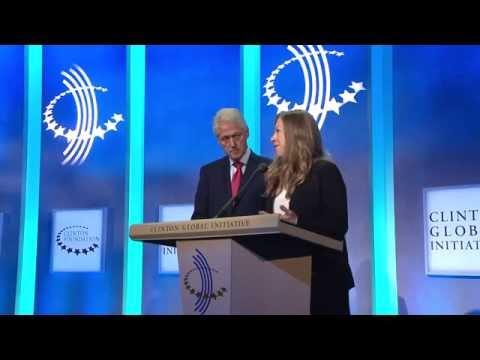 Chelsea Clinton & President Clinton Announce $3 Million Commitment to ServiceNation