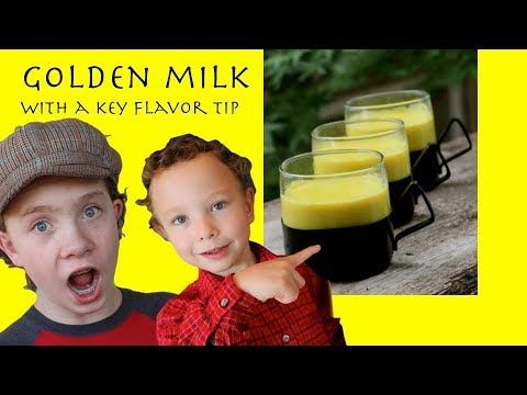 Golden milk: A drink for brain and heart health in a tasty, golden turmeric tea package