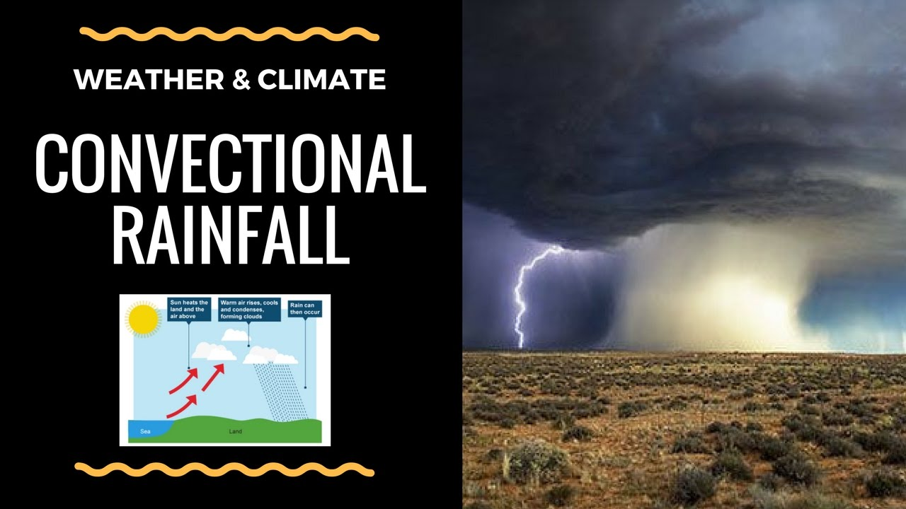 Convectional Rainfall - Diagram And Explanation