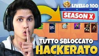 HACKERO THE ACCOUNT of GIGI and THE SHOPPO all pass Battle 10 of FORTNITE!!!