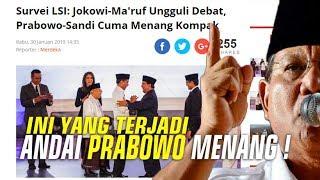 VIRAL ! Andai Prabowo Menang , Indonesia akan seperti ini?